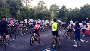 Begin easing into fall with the Camp Boggy Creek Challenge Ride