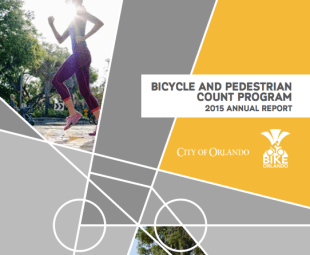 City of Orlando releases 2015 report on number of people biking/walking