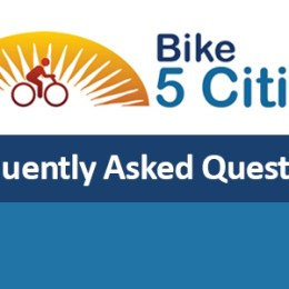 'Bike 5 Cities' – Frequently Asked Questions