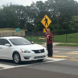 Crosswalk crackdown – Operation Best Foot Forward featured in Orlando Sentinel