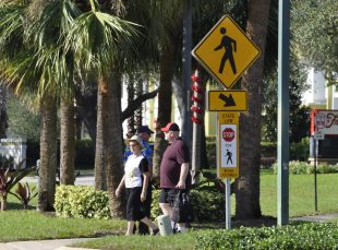 Take your time – Always look for pedestrians