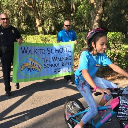 OCPS students grab life by the handlebars on Bike to School Day