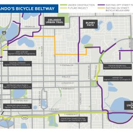 Downtown Connector Trail – a new addition to the Orlando Urban Trail Network