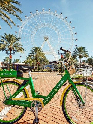 Lime E-Assist bikes taking off in Orlando