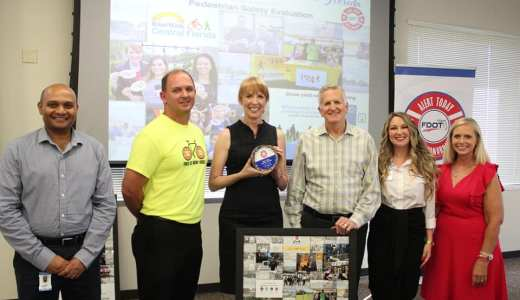 FDOT Honors BWCF, BFF with First-Ever Award of Its Kind