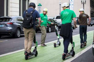 Portland Bureau of Transportation hosted several scooter safety classes when they brought electric scooters to their city.