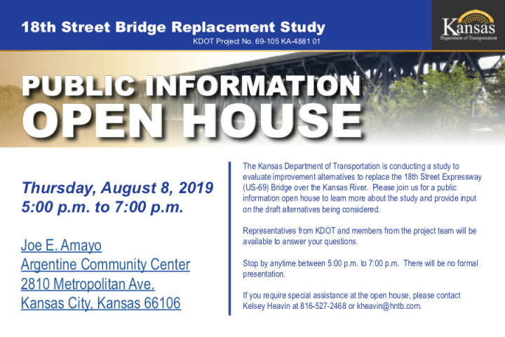 18th Street Bridge Replacement Open House