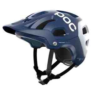 POC Tectal Race Spin Lead Blue / Hydrogen White Matt Helmet