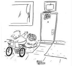 Bike cartoon