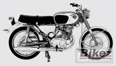 1967 Honda CB 160 specifications and pictures