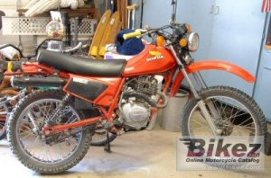 1983 Honda XL 185 S specifications and pictures
