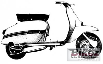 1969 Lambretta GP 150 specifications and pictures