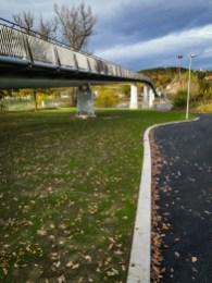 New bridge in Troja