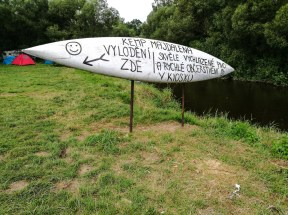 You cannot miss Majdalena camping