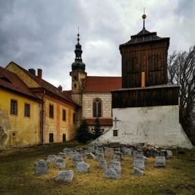 War memorial in Obříství