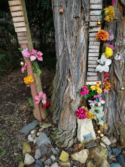Pet memorial place
