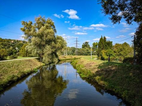 Svitava river