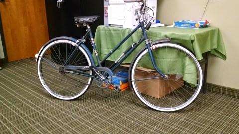 Allison's stolen bike 2