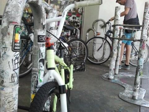 Amoeba Bike Corral