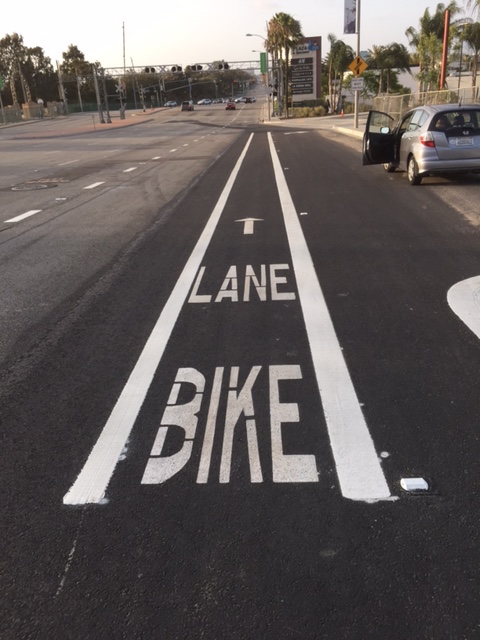 Sepulvrda Bike Lane