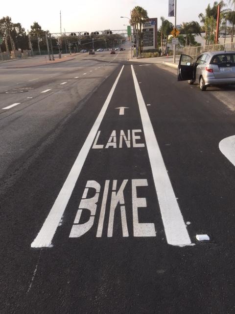 Sepulvrda Bike Lane