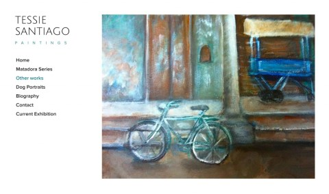 Tessie-Santiago-Bike-Painting