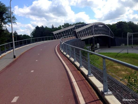 Ein Traum vieler Radfahrer - zumindest in Deutschland