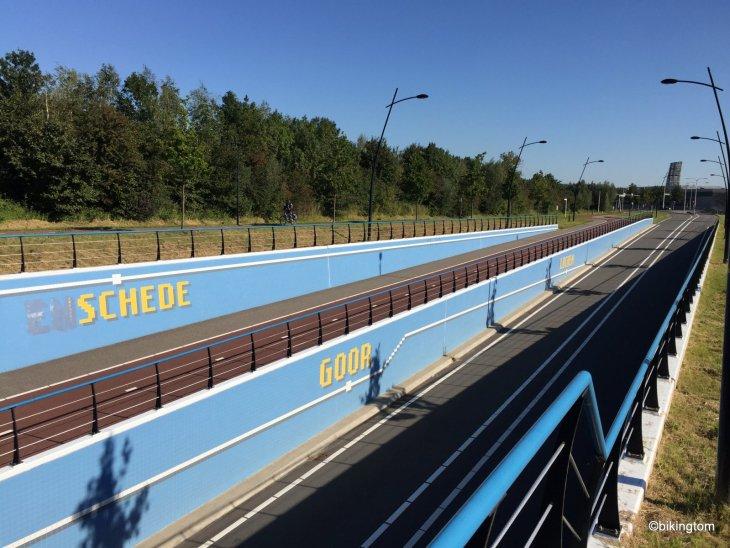 Fietssnelweg Radschnellweg Niederlande bikingtom