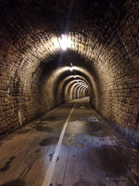 Im Schulenbergtunnel von 1883
