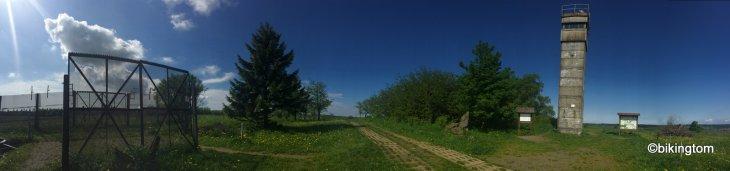 Grenzzaun Rhön Radfahren bikingtom