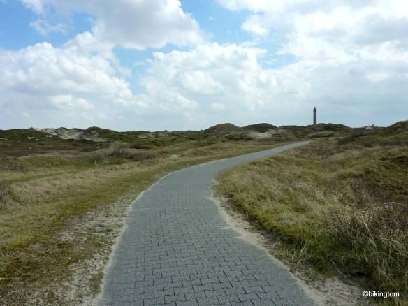 Der Weg durch die Dünen von Norderney