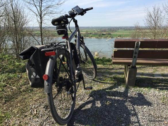 Der Blick vom Alsumer Berg in Richtung Niederrhein.