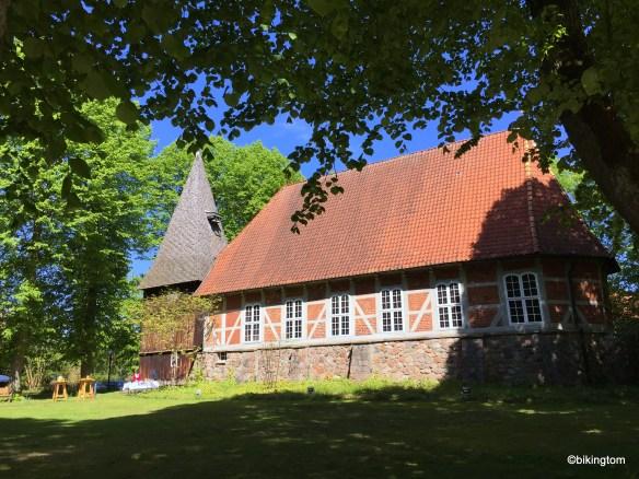 Kirche in Egestorf von 1645.