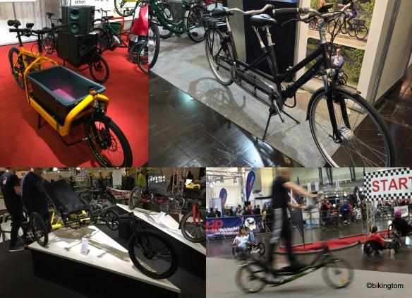 Auch Spezial-Fahrräder gab es zu sehen und zu testen!