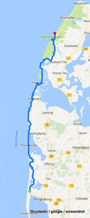 bikingtom in Dänemark