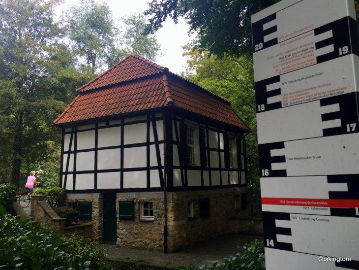 Fahrradtour bikingtom Schlossmühle Lippholthausen Standesamt
