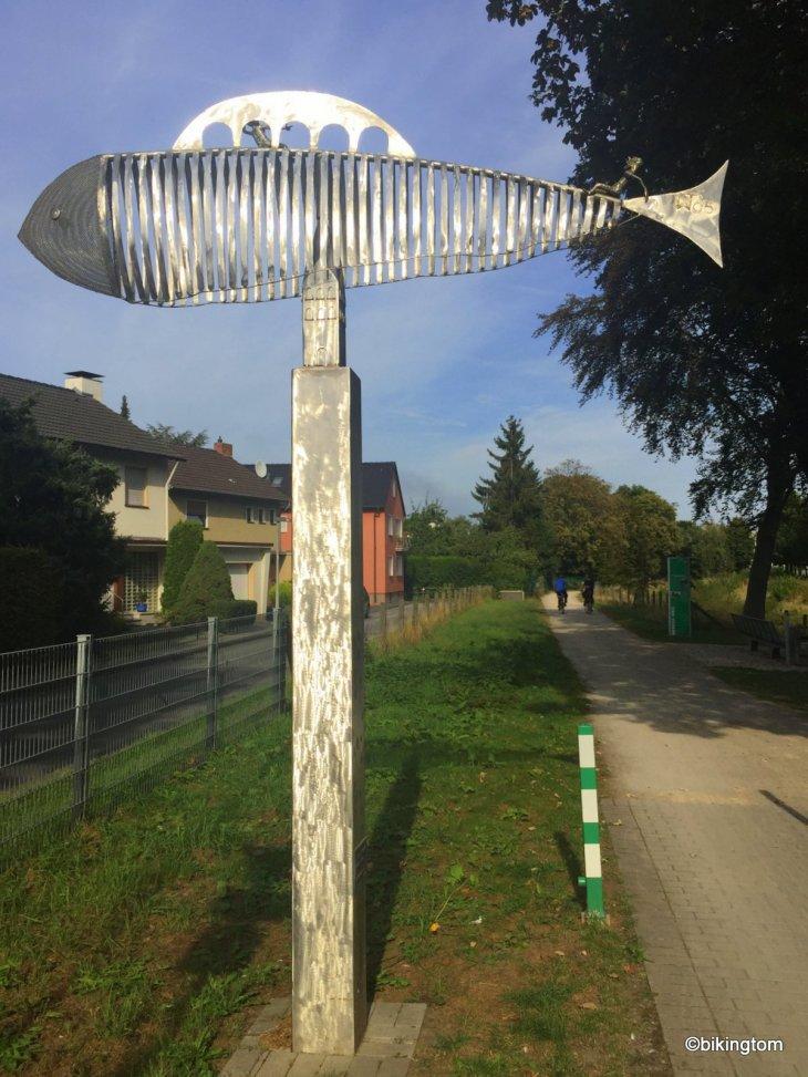Fahrradtour bikingtom Seseke-Weg Kamen