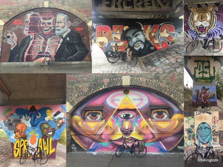 Graffiti,Wien,Donaukanal,Österreich,bikingtom,Radtour