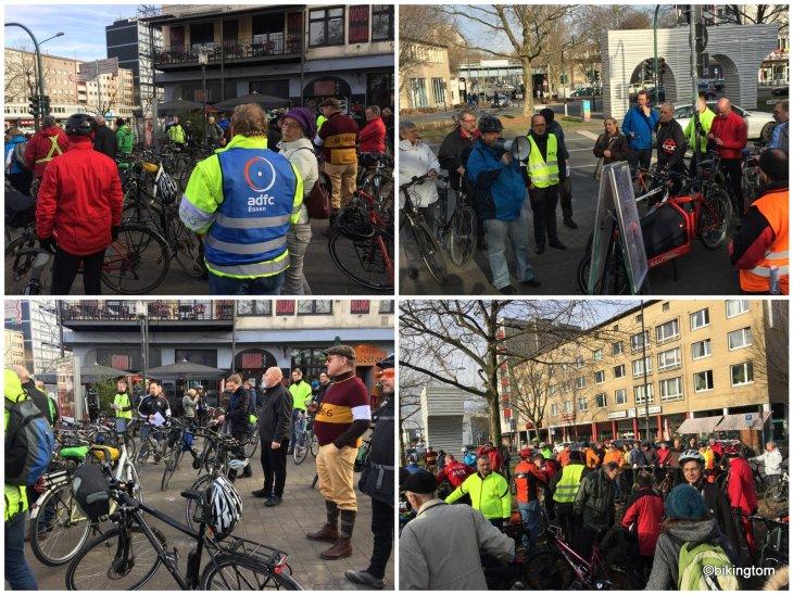 Demo, Radschnellweg, Ruhr, RS1, Stadt Essen