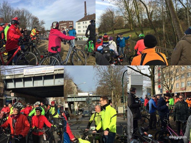 Demo, Radschnellweg, RS1, Ruhr, Stadt Essen