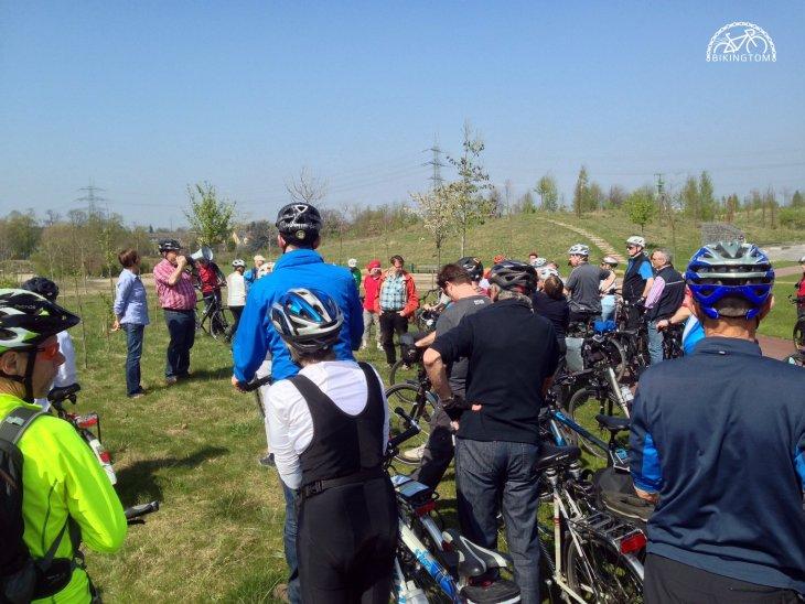 bikingtom,Radtour,Stadt Essen,Baustelle