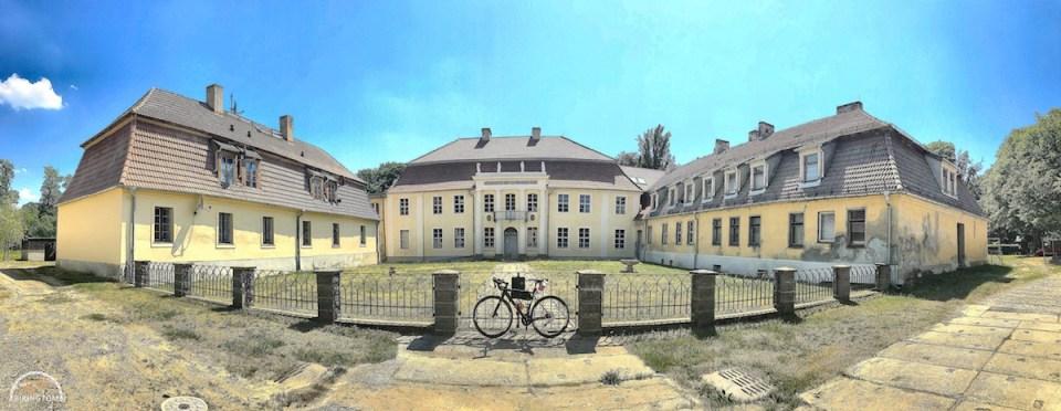 Uckermark,Brandenburg,Fahrrad,Radfahren,Herrenhaus Dannenwalde