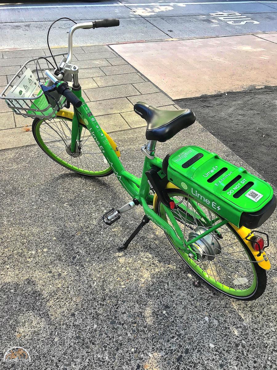 Seattle,Radfahren USA,Fahrrad,Lime-Bike