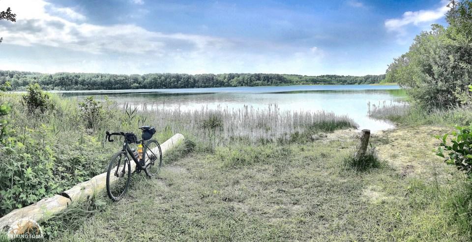 Uckermark,Brandenburg,Fahrrad,Radfahren,Großer Weißer See