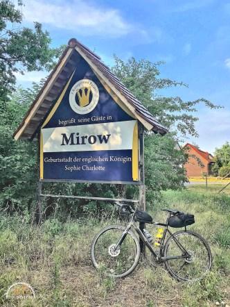 Uckermark,Brandenburg,Fahrrad,Radfahren,Mirow,Englische Königin