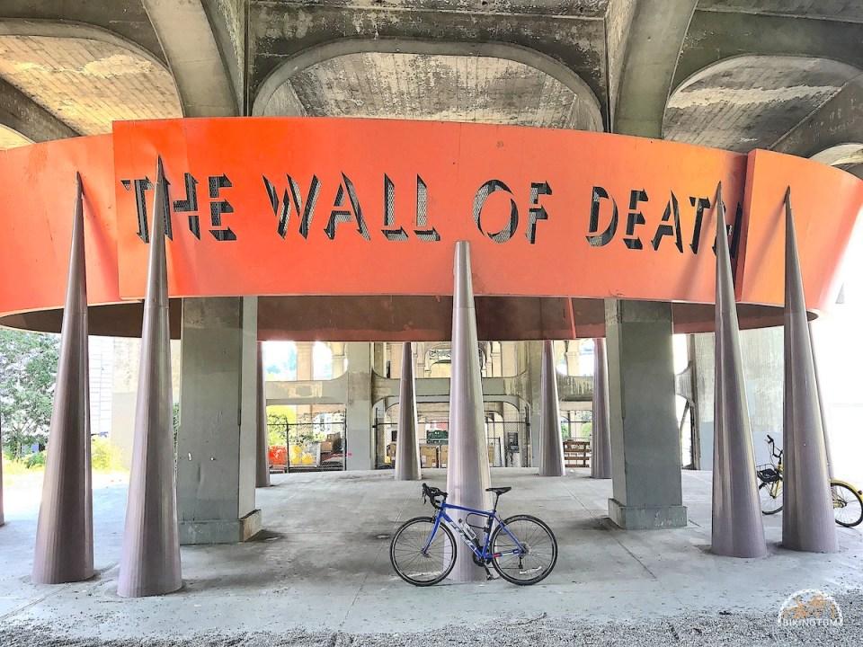 Seattle,Radfahren USA,Fahrrad,Wall Of Death Seattle