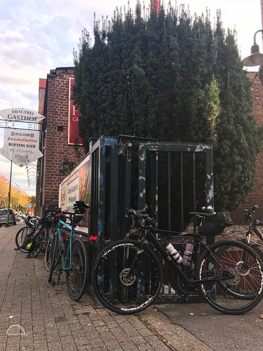 Nightofthe100miles,LTD Ride,bikingtom,Dampfbierbrauerei Essen-Borbeck