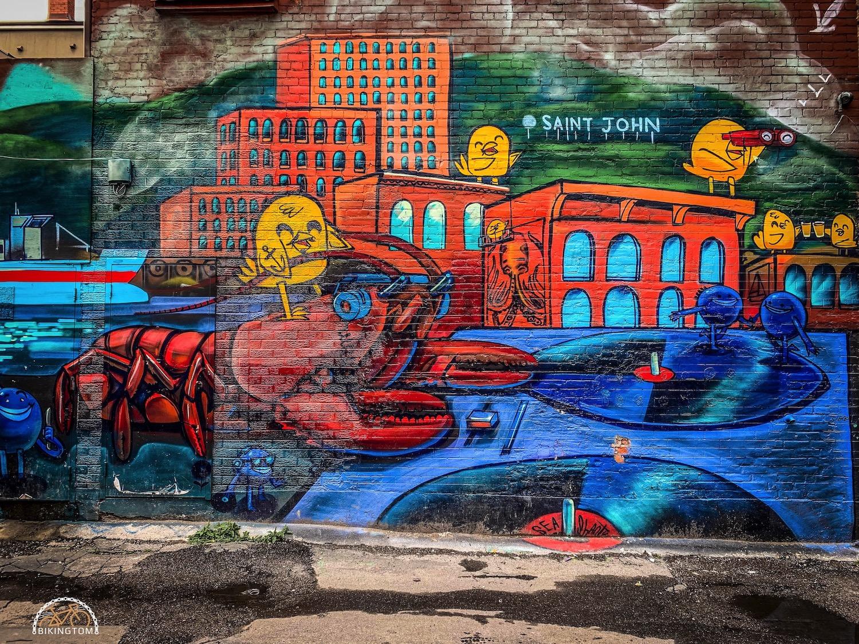 Radfahren,Fahrrad,Toronto,Bike,Graffiti Alley