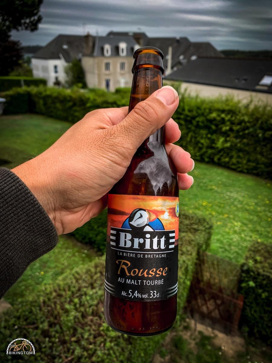 Bretagne,Radtouren,Fahrrad,Bier