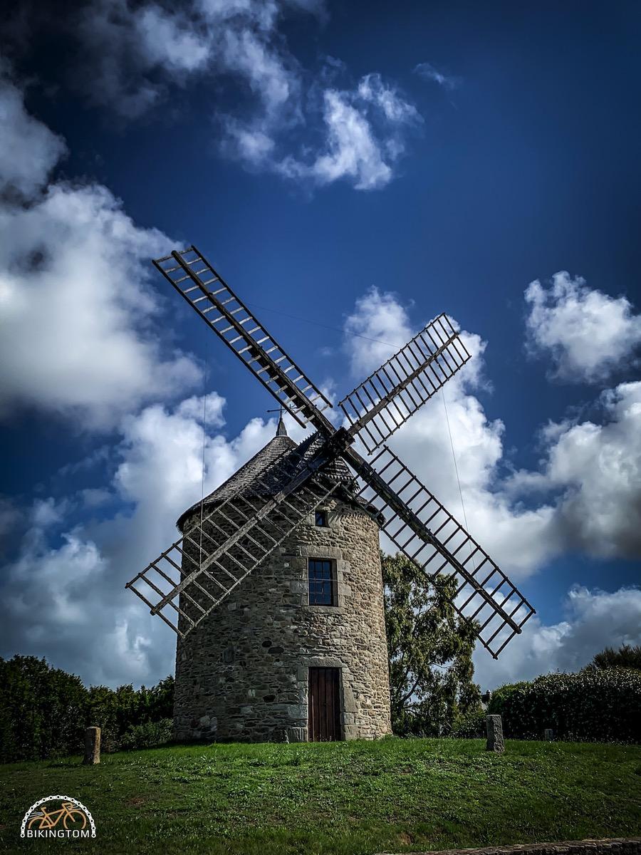 Bretagne,Radtouren,Fahrrad,Moulin de Buglais